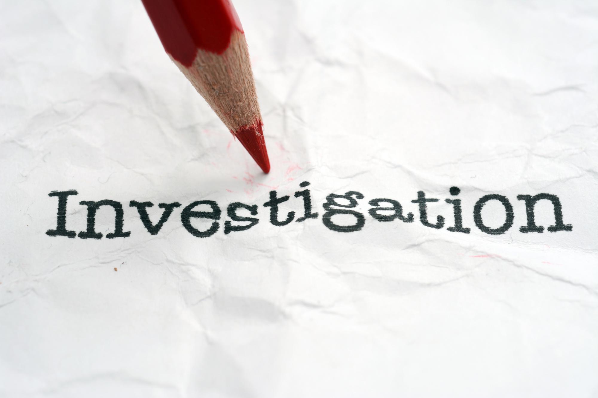 WARNING!  Impending Investigation – JOSEPH COTTER